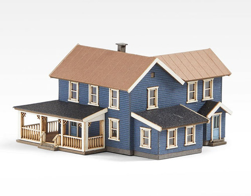 Archistories Z 406201 Turn of The Century House Kit, Dark Blue