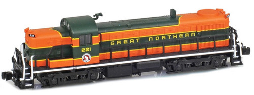 American Z Line Z 63300-1 RS-3 Diesel Locomotive, Great Northern #221