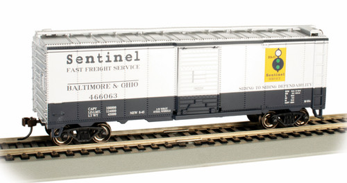Bachmann HO 16005 40' PS-1 Box Car, Baltimore and Ohio #466063