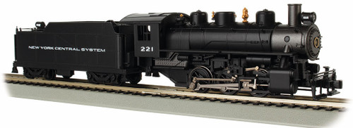 Bachmann HO 50405 0-6-0 Steam Locomotive with Tender, New York Central #221