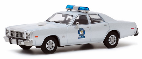 Greenlight Collectibles O 86581 Arkansas Sheriff 1975 Plymouth Fury, Smokey and the Bandit (1:43)