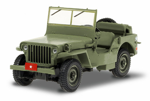 Greenlight Collectibles O 86593 Army Brigadier General 1942 Willys MB Jeep, M*A*S*H (1:43)