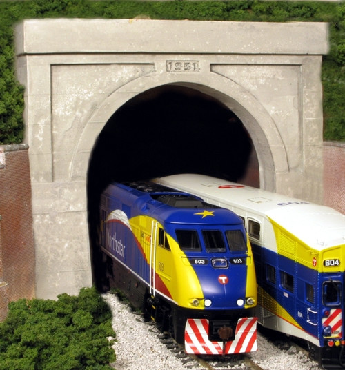 Monroe Models N 219 Clarksburg B&O Double Tunnel Portal