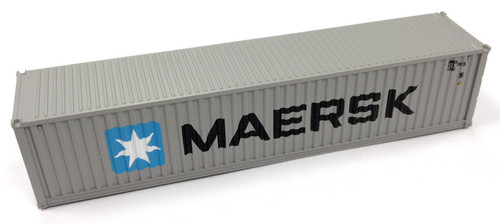 Kato N 80055A 40' Magnetic Intermodal Container, Maersk