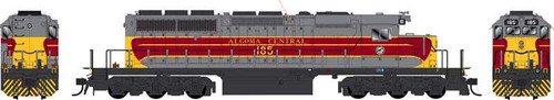 Bowser HO 25014 GMD SD40-2 Locomotive, Algoma Central #186