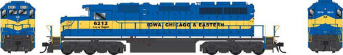"""Bowser HO 25053 GMD SD40-2 Locomotive, Iowa Chicago and Eastern """"City of Buffalo"""" #6212"""