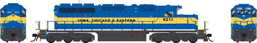 """Bowser HO 25056 GMD SD40-2 Locomotive, Iowa Chicago and Eastern """"City of Algona"""" #6216"""