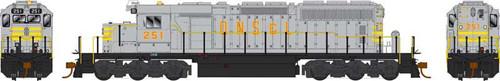 Bowser HO 25062 GMD SD40-2 Locomotive, Quebec North Shore and Labrador #261