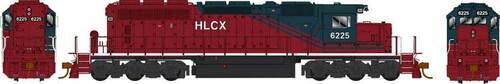 Bowser HO 25066 GMD SD40-2 Locomotive, Helm Financial #6225