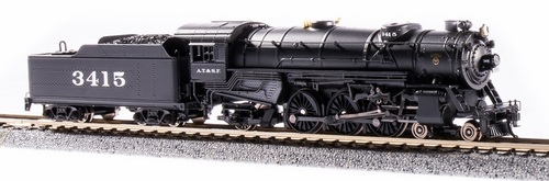 Broadway Limited Imports N 6222 USRA Heavy Pacific 4-6-2, Atchison Topeka and Santa Fe #3415