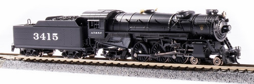 Broadway Limited Imports N 6223 USRA Heavy Pacific 4-6-2, Atchison Topeka and Santa Fe #3417