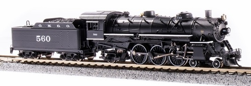 Broadway Limited Imports N 6245 USRA Light Pacific 4-6-2, Gulf Mobile and Ohio #564