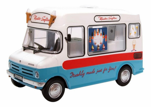 Oxford Diecast O 43CF003 Bedford CF Morrison Ice Cream Van, Mister Softee