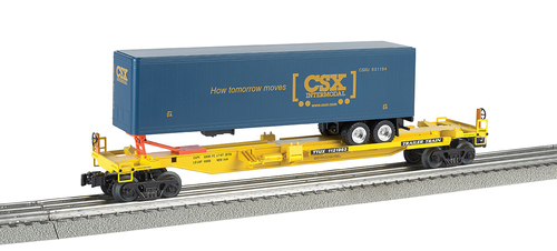 Williams by Bachmann O 48403 Front Runner with CSX Trailer, TTX #1121963
