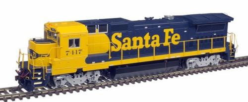 Atlas HO 10003067 Silver Series Dash 8-40B, Santa Fe #7417