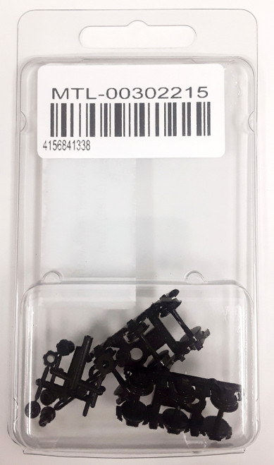 "Micro-Trains N 00302215 (1188) Commonwealth 6-Wheel Trucks for 36"" Wheels without Couplers (1 Pair)"