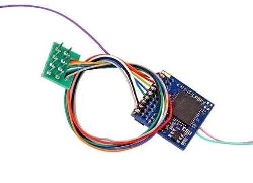 ESU HO/O 59210 LokPilot 5 Fx DCC/MM/SX Function-Only Decoder, 8-pin NEM652