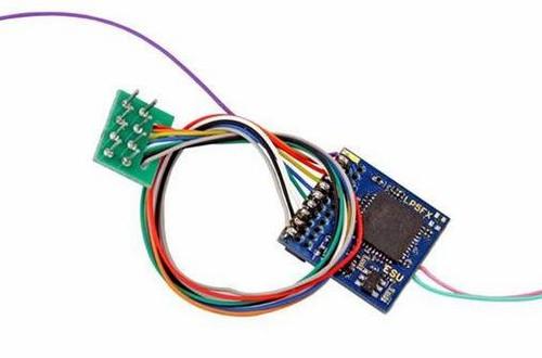 ESU HO/O 59220 LokPilot 5 Fx DCC Function-Only Decoder, 8-pin NEM652