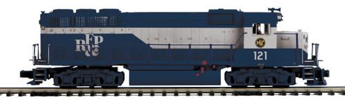 MTH Premier O 20-21468-1 GP-40 Diesel Engine with Hi-Rail Wheels, Richmond Fredericksburg and Potomac #121