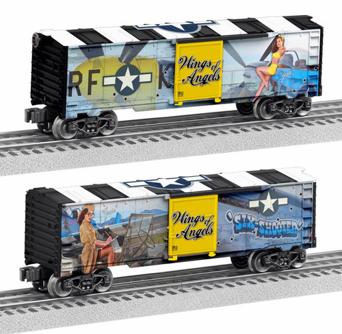 Lionel O 2038220 Wings of Angels Box Car, USA Jessie Ray