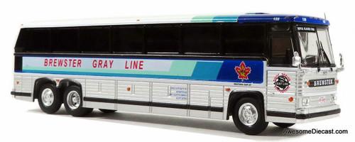 Iconic Replicas HO 87-0234 MCI MC-9 Bus, Brewster Grayline