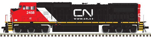 Atlas HO 10003116 Silver Series Dash 8-40C Locomotive, Canadian National #2465