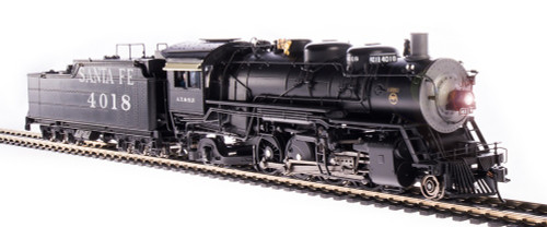 Broadway Limited Imports HO 4760 4000 Class 2-8-2, Atchison Topeka and Santa Fe #4018