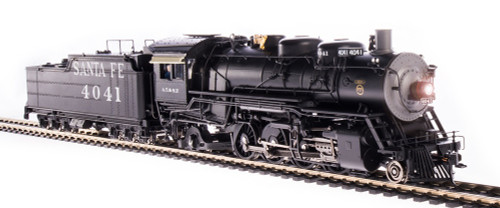 Broadway Limited Imports HO 4761 4000 Class 2-8-2, Atchison Topeka and Santa Fe #4041
