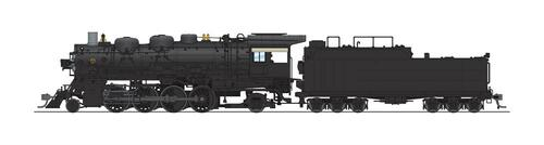 Broadway Limited Imports HO 4764 4000 Class 2-8-2, Unlettered