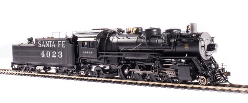 Broadway Limited Imports HO 4765 4000 Class 2-8-2, Atchison Topeka and Santa Fe #4023