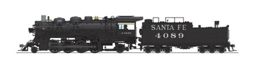 Broadway Limited Imports HO 4767 4000 Class 2-8-2, Atchison Topeka and Santa Fe #4089