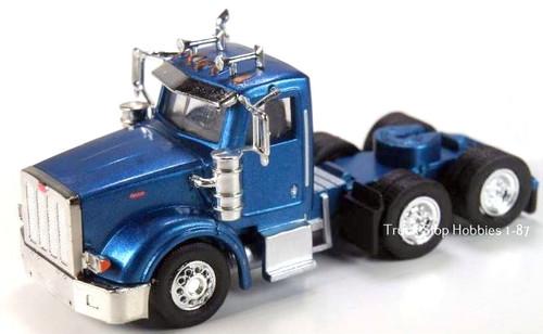 Trucks N Stuff HO 410512 Peterbilt 367 3-Axle Daycab (2-Pack)