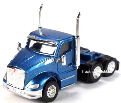 Trucks N Stuff HO 410682 Kenworth T680 3-Axle Daycab (2-Pack)