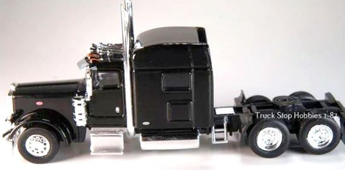 Trucks N Stuff HO 410504 Peterbilt 389 2-Axle Daycab (2-Pack)