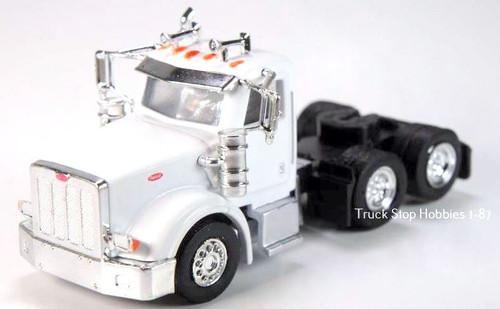 Trucks N Stuff HO 410513 Peterbilt 367 3-Axle Daycab (2-Pack)