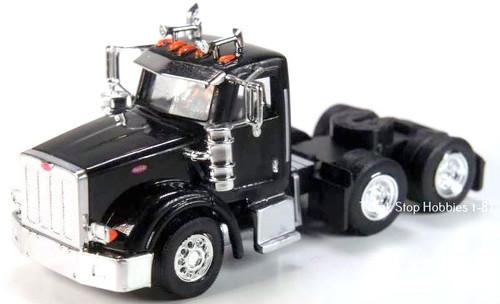 Trucks N Stuff HO 410514 Peterbilt 367 3-Axle Daycab (2-Pack)