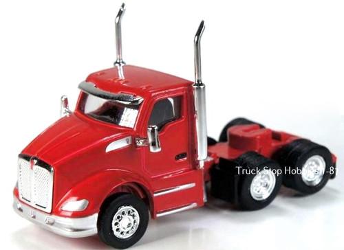 Trucks N Stuff HO 410531 Peterbilt 579 3-Axle Daycab (2-Pack)