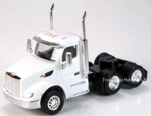 Trucks N Stuff HO 410533 Peterbilt 579 3-Axle Daycab (2-Pack)