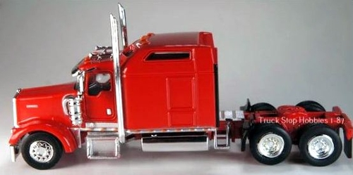 Trucks N Stuff HO 410651 Kenworth W900L Cab (2-Pack)