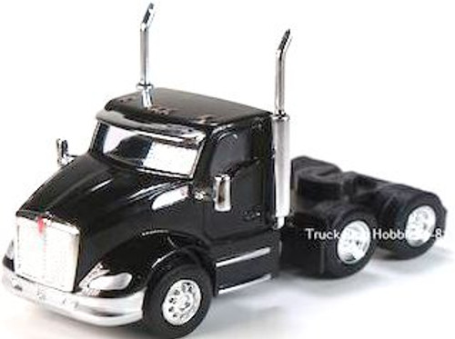 Trucks N Stuff HO 410684 Kenworth T680 3-Axle Daycab (2-Pack)