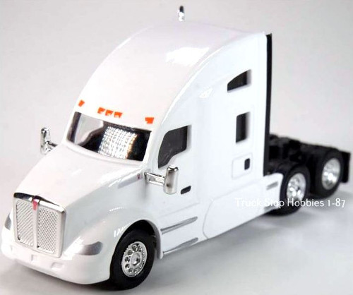 Trucks N Stuff HO 410693 Kenworth T680 Sleeper Cab (2-Pack)
