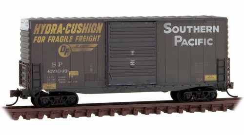 Micro-Trains N 10144060 Weathered 40' Hy-Cube Box Car, Southern Pacific #659049