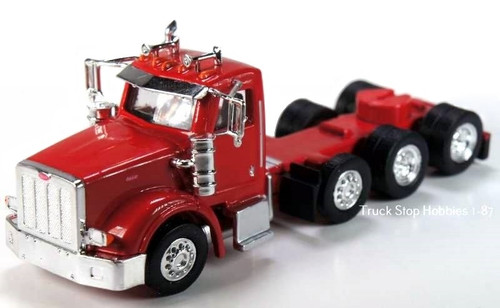 Trucks N Stuff HO 410521 Peterbilt 367 4-Axle Daycab (2-Pack)