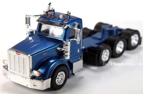 Trucks N Stuff HO 410522 Peterbilt 367 4-Axle Daycab (2-Pack)