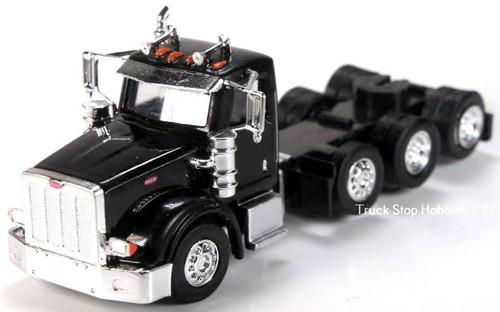 Trucks N Stuff HO 410524 Peterbilt 367 4-Axle Daycab (2-Pack)