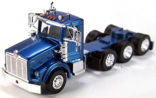 Trucks N Stuff HO 410672 Kenworth T800 4-Axle Daycab (2-Pack)
