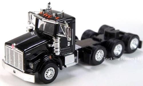 Trucks N Stuff HO 410674 Kenworth T800 4-Axle Daycab (2-Pack)