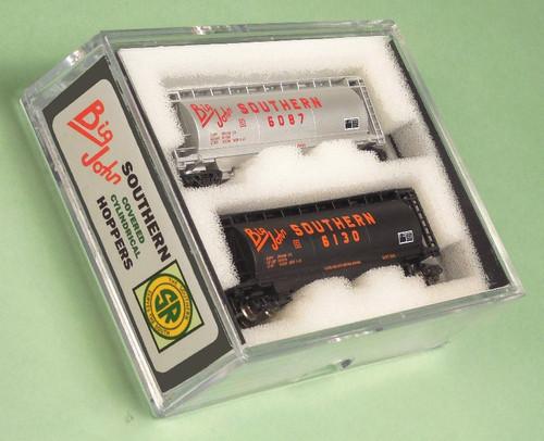 """Full Throttle Z FT1065-2 ACF 51' Cylindrical Hopper Set #2, Southern """"Big John"""" (2-Pack)"""