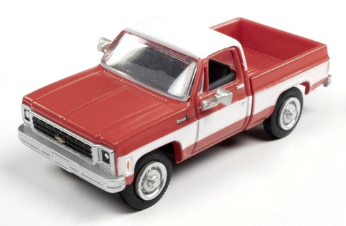 Classic Metal Works HO 30605 1973 Chevy Cheyenne Pickup, Madder Red