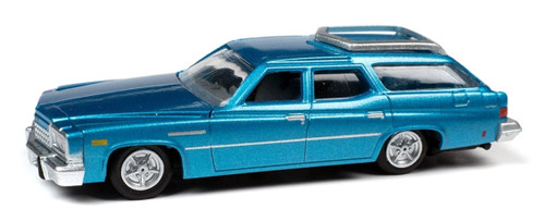 Classic Metal Works HO 30608 1976 Buick Estate Wagon, Potomac Blue Poly